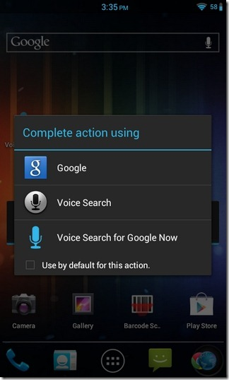 Voice-Enabled-Google-Now-Android-Widget