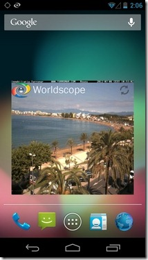 Worldscope-Webcams-Beta-4-Android-Widget