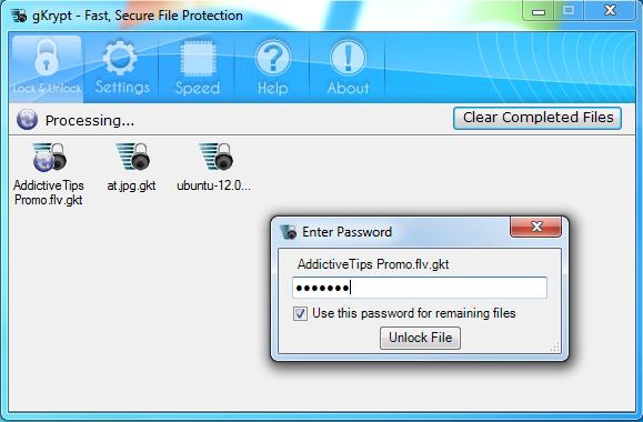 gKrypt Decryption