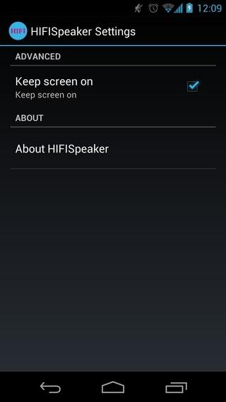 Android-HiFi-Speaker-Settings