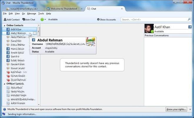 Chat Option