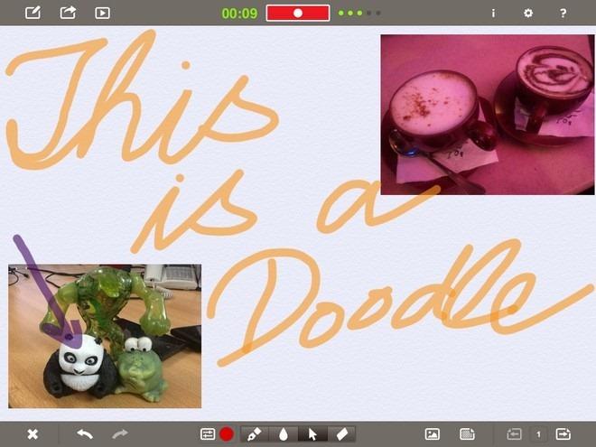 Doodlecast Pro iPad