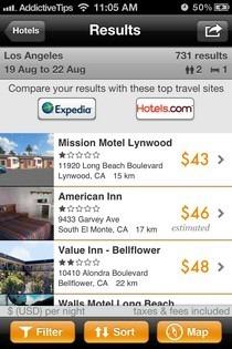 Kayak Pro Hotels List