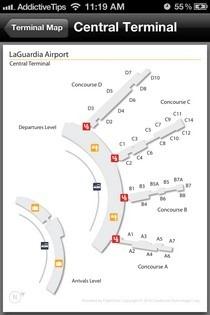Kayak Pro Terminal Map