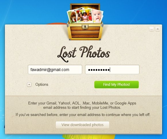Lost Photos Main