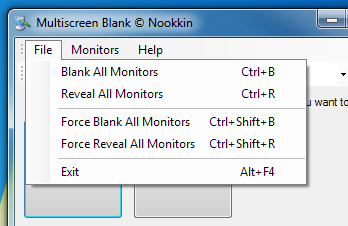 Multiscreen Blank