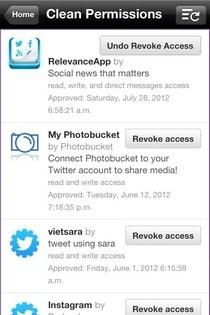 Permissions iOS Twitter