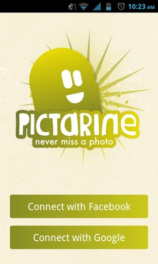 Pictarine-Android-Login
