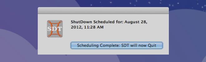 Simple ShutDown Timer exit