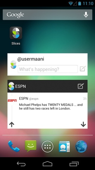 Slices-For-Twitter-Android-iOS-Widgets