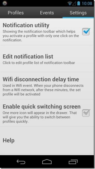 Smart-Settings-Android-Settings