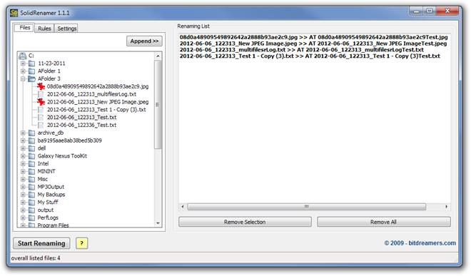 SolidRenamer 1.1.1