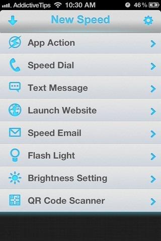 Speed U iOS New