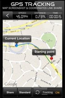 Speedometer GPS  Tracking