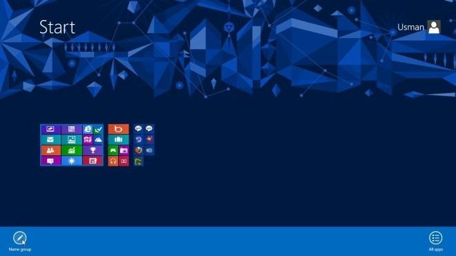 Start menu_all apps