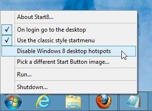 Start8 Right Click