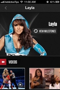 WWE iOS Milestones