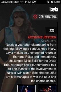 WWE iOS Profile