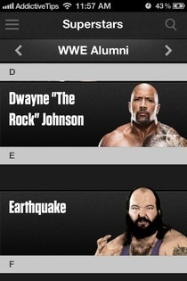 WWE iOS Superstars