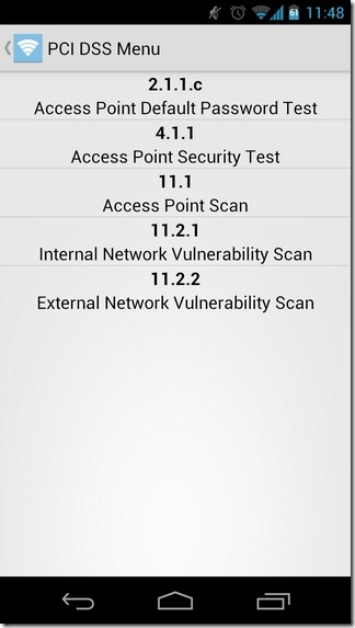 WiFinspect-Android-PCI-DSS