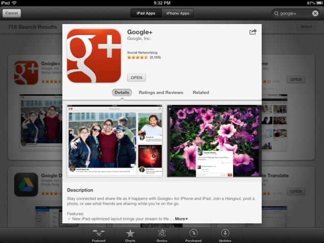 App Store App Info iPad iOS 6
