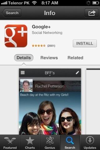App Store App Info iPhone iOS 6