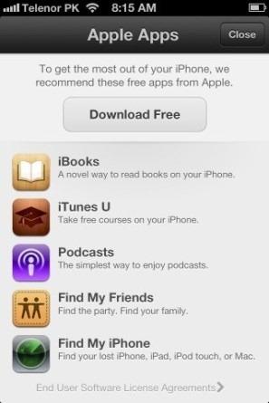 App Store Apple App Recommendations iPhone iOS 6