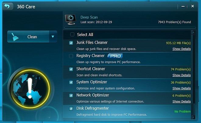 CleanGenius Deep Scan