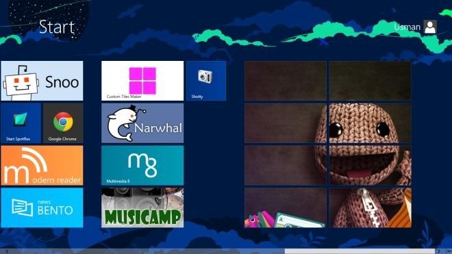 Custome Tile Maker_Start Screen