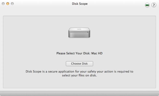 Disk Scope