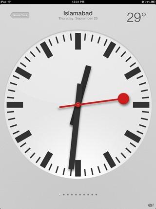 Clock App iOS 6
