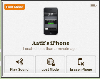 Lost Mode Panel iOS 6 (1)