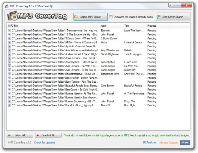 MP3 CoverTag