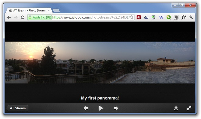 Photo-Stream-Web-Viewer