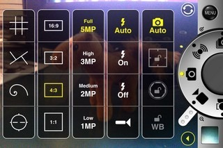 ProCam iOS Camera Options