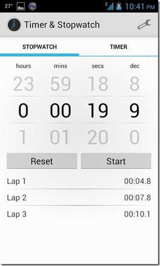 Timer & Stopwatch ICS