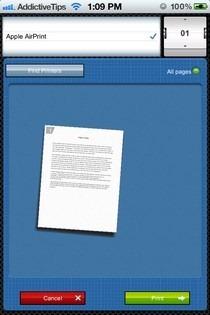 Smart Office 2 iOS Print