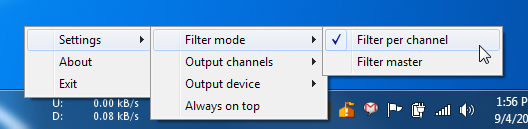 Sound Lock Filter Mode