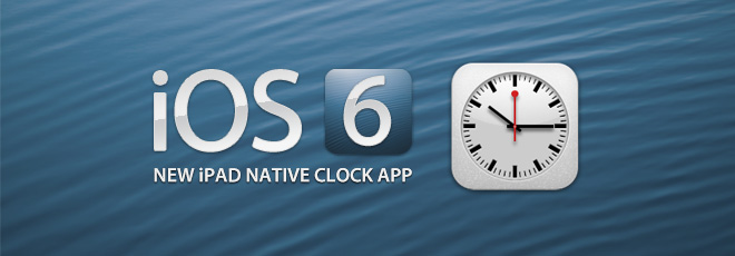 iOS-6-iPad-Native-Clock-App