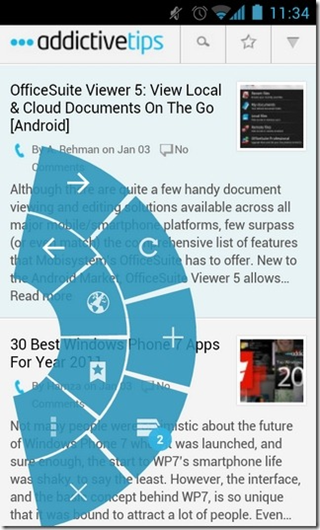 ICS Browser+ - Holo Themed Android Browser