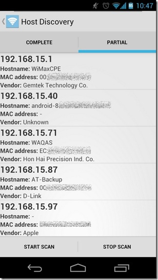 WiFinspect ICS