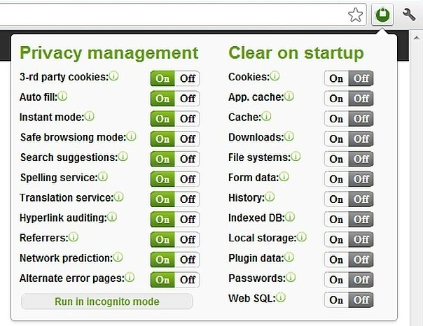 Privacy Manager