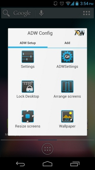 ADW-Launcher-Android-Main-Config