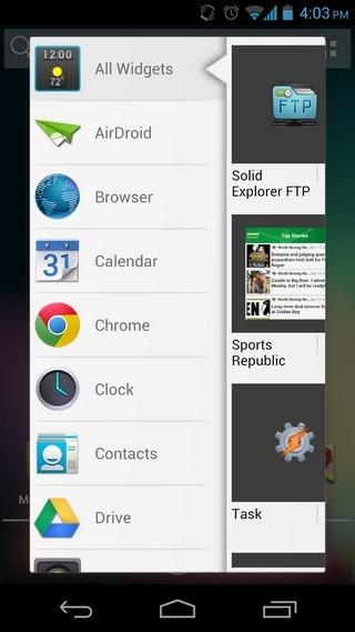 ADW-Launcher-Android-WidgetPicker
