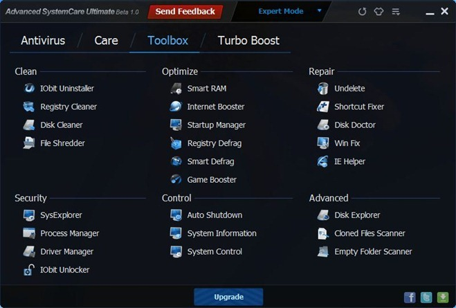 Advanced SystemCare Ultimate_Toolbox