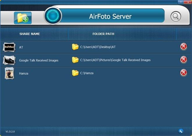 AirFoto Server