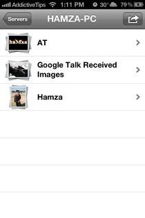 AirFoto iOS Albums