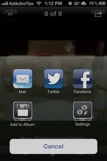 AirFoto iOS Photo Sharing