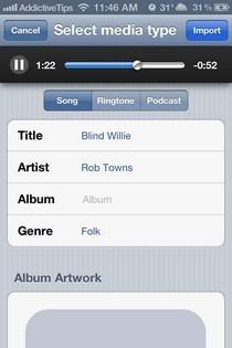 Bridge iOS Song