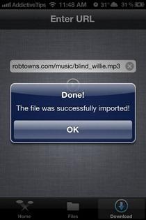 Bridge iOS URL